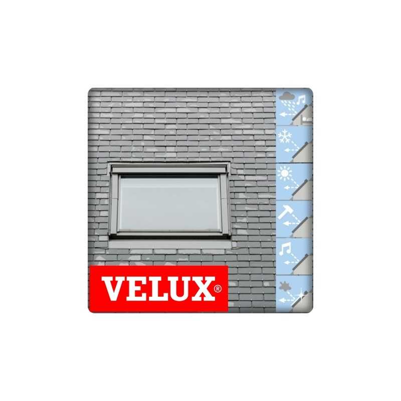 velux 114x118 tout confort fen tre de toit velux tout confort ggl mk04 l78xh98cm velux gpl. Black Bedroom Furniture Sets. Home Design Ideas