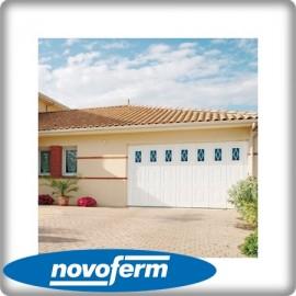 Porte garage latérale cassette Novoside