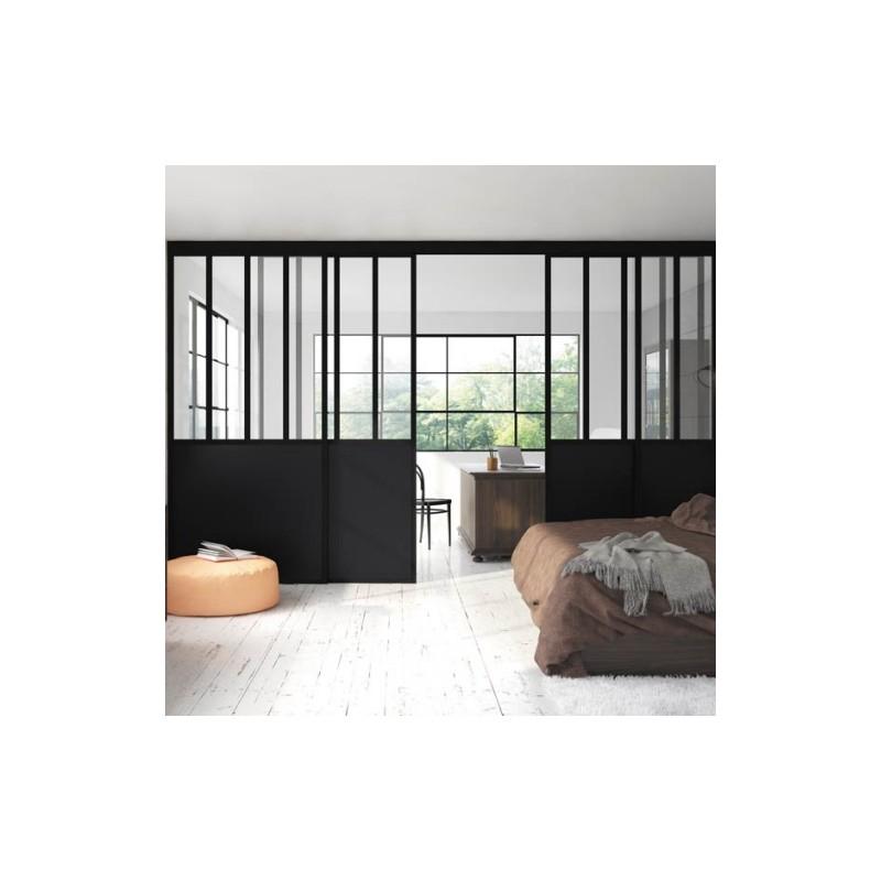 Verriere Atelier Salle De Bain : … , agencement, cuisine > Verrières d'intérieur > Verrière d'atelier