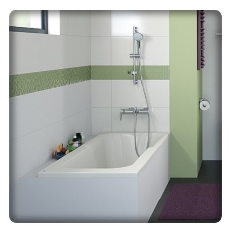bricol 39 home baignoire bain douche rectangulaire. Black Bedroom Furniture Sets. Home Design Ideas