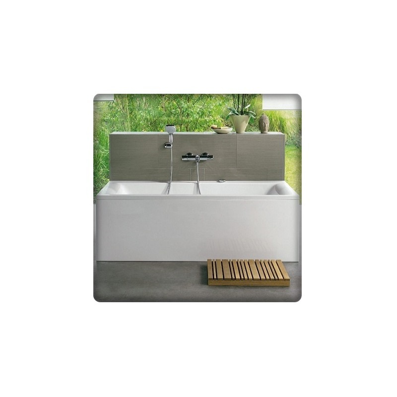 bricol 39 home baignoire rectangulaire double dos. Black Bedroom Furniture Sets. Home Design Ideas