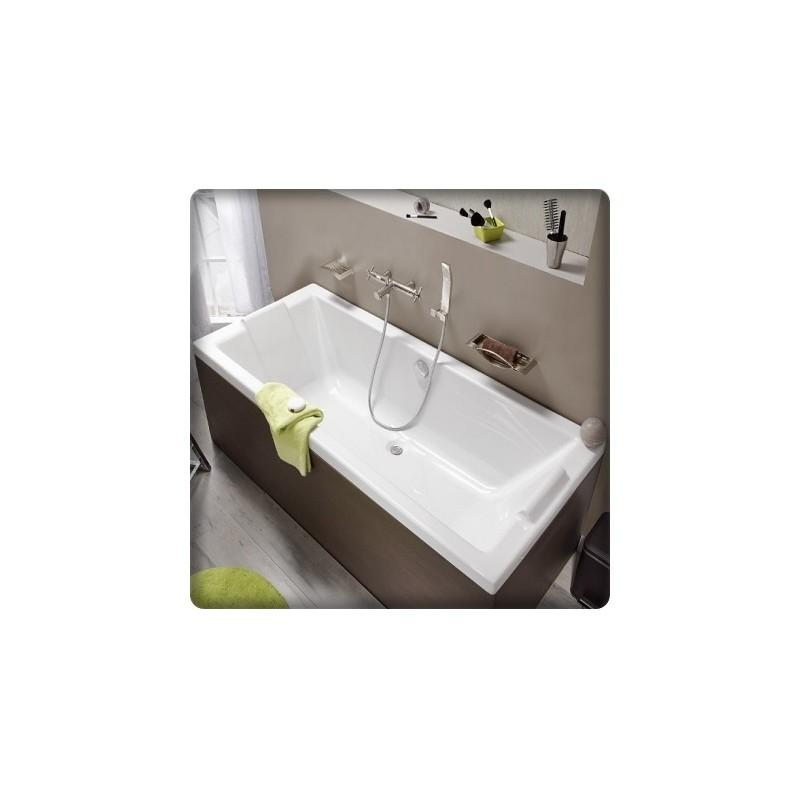 bricol 39 home baignoire rectangulaire double dos fourniture et pose. Black Bedroom Furniture Sets. Home Design Ideas