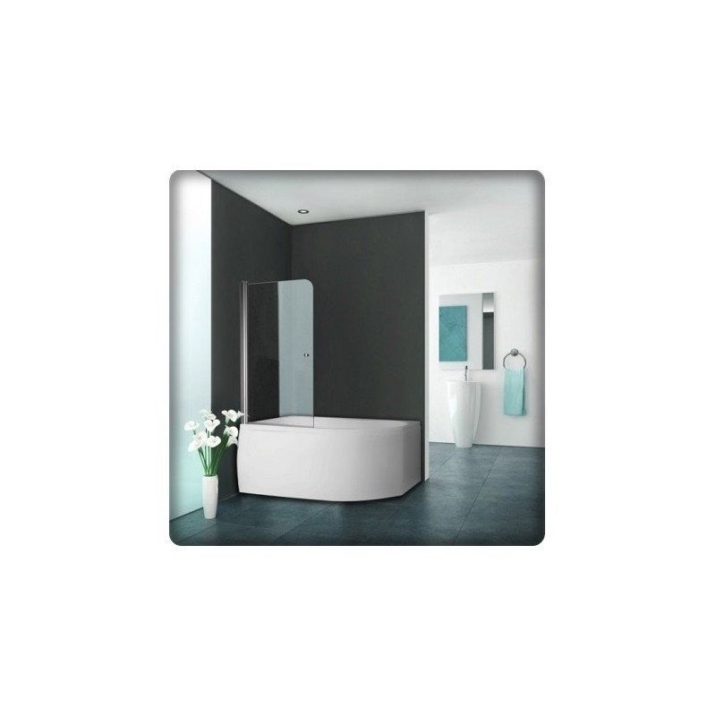 bricol 39 home pare baignoire pivotant total fourniture. Black Bedroom Furniture Sets. Home Design Ideas