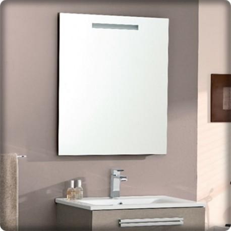 Bricol 39 home miroir et spot salle de bain pose for Miroir 90x70