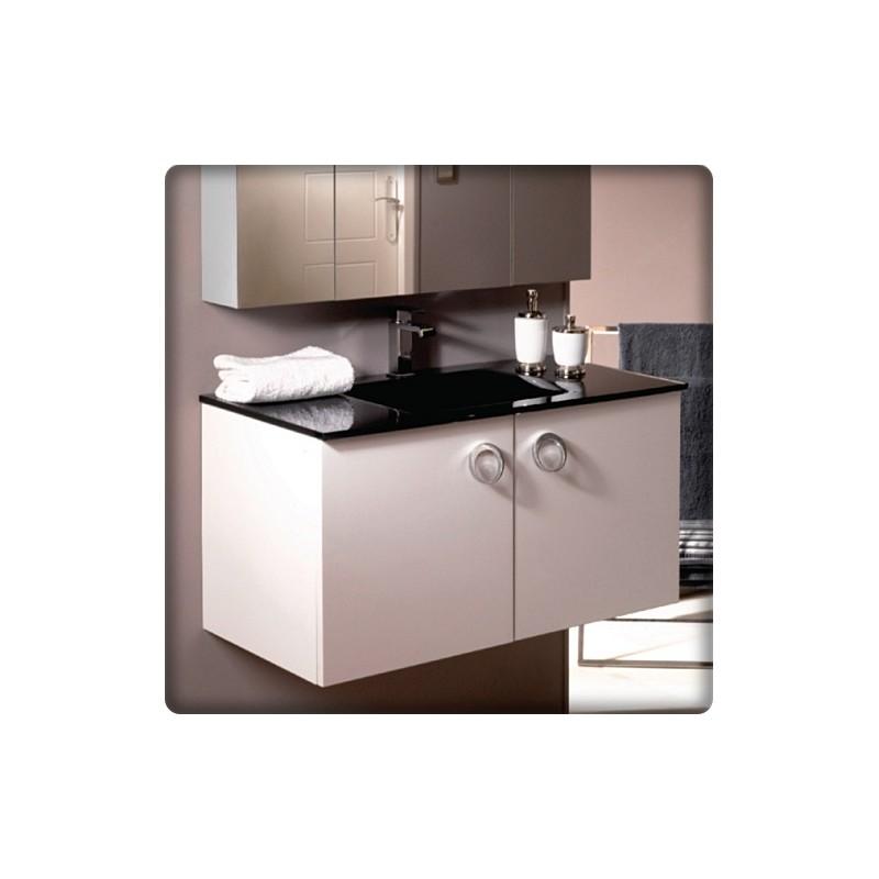 plan vasque salle de bain en verre id es inspir es pour. Black Bedroom Furniture Sets. Home Design Ideas