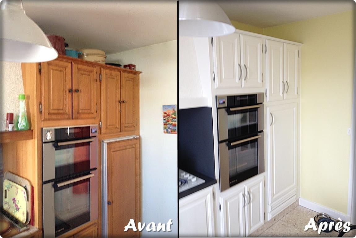 Chantier cuisine Bricol'Homme, rénovation et relooking de la cuisine, placards et armoires