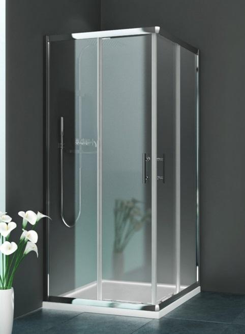bricol 39 home paroi douche en acc s d 39 angle rothalux. Black Bedroom Furniture Sets. Home Design Ideas