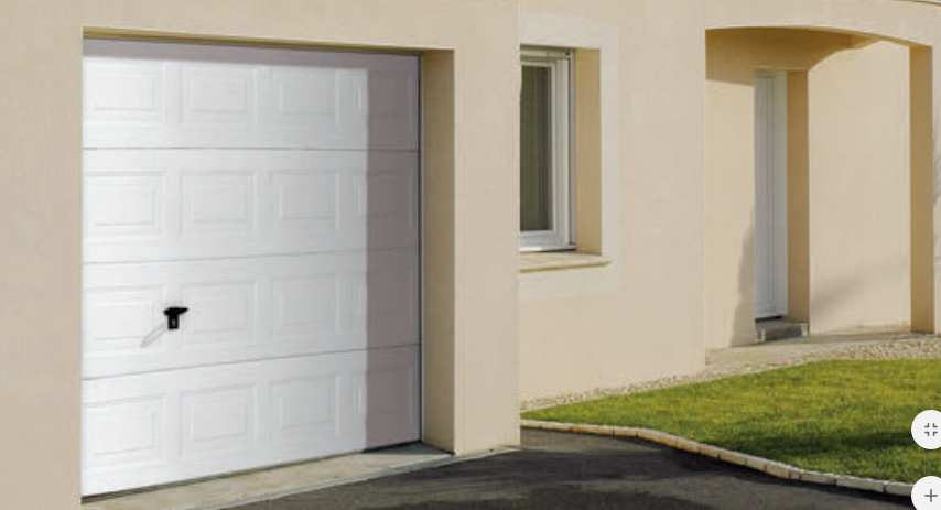 Pose d une porte de garage - Pose d une porte de garage sectionnelle ...