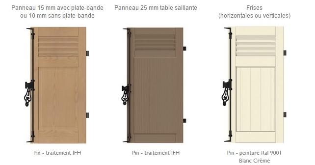 volet battant en bois awesome volet battant en bois de sapin du nord pica h cm l with volet. Black Bedroom Furniture Sets. Home Design Ideas