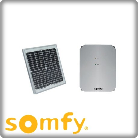Portail solaire somfy