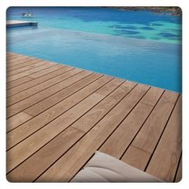 Terrasse en bois thermo-traité