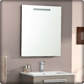 Bricol 39 home epernay miroir et spot salle de bain pose for Miroir 90x60