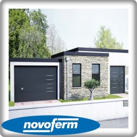 Porte garage sectionnelle alinéa Iso 20