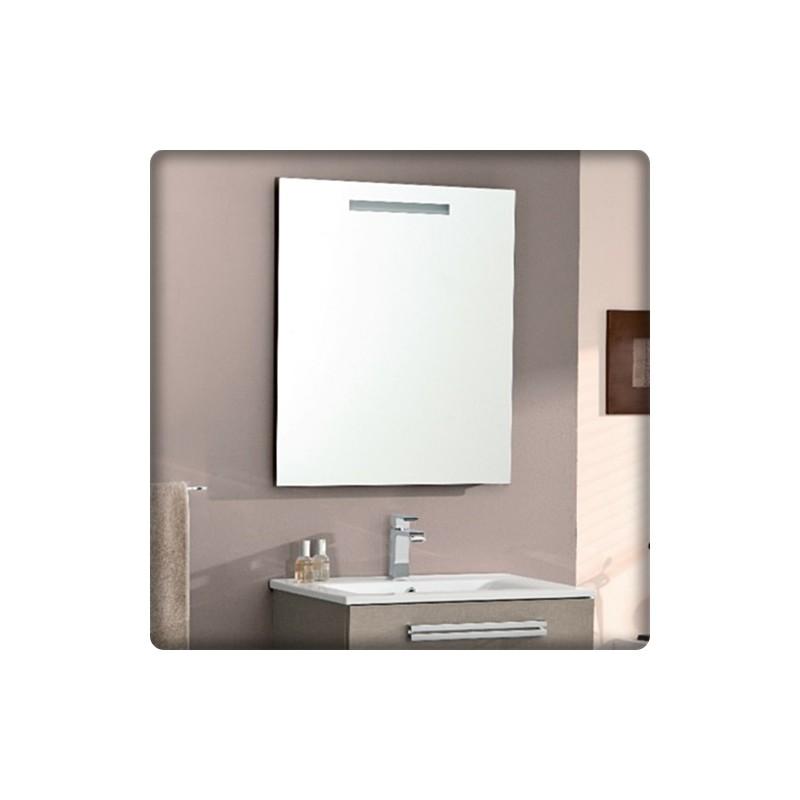 Bricol 39 home reims miroir et spot salle de bain pose for Meuble 90x60