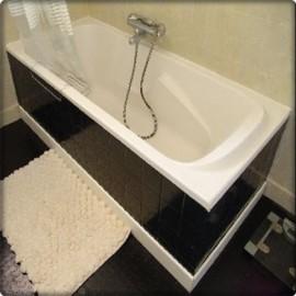 Baignoire a carreler maison design - Tablier de baignoire a carreler ...