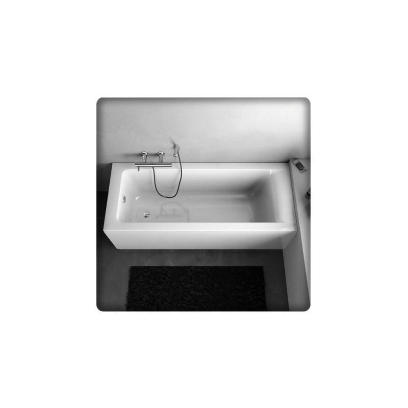 Bricol 39 home marne la vall e baignoire rectangulaire acrylique fournit - Pose baignoire acrylique ...